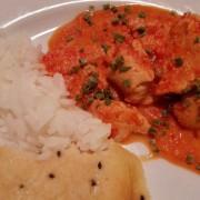 Indisk Butter Chicken